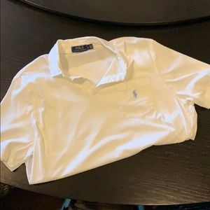 White Polo by Ralph Lauren